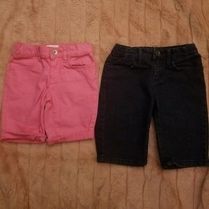 2 for $15 Girl's Bermuda Shorts